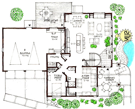 Ultra Modern Home Floor Plans