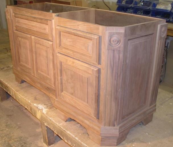 Unfinished Bathroom Vanity Cabinets