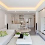 White Living Room Table Sets