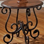 Wrought Iron End Tables Living Room