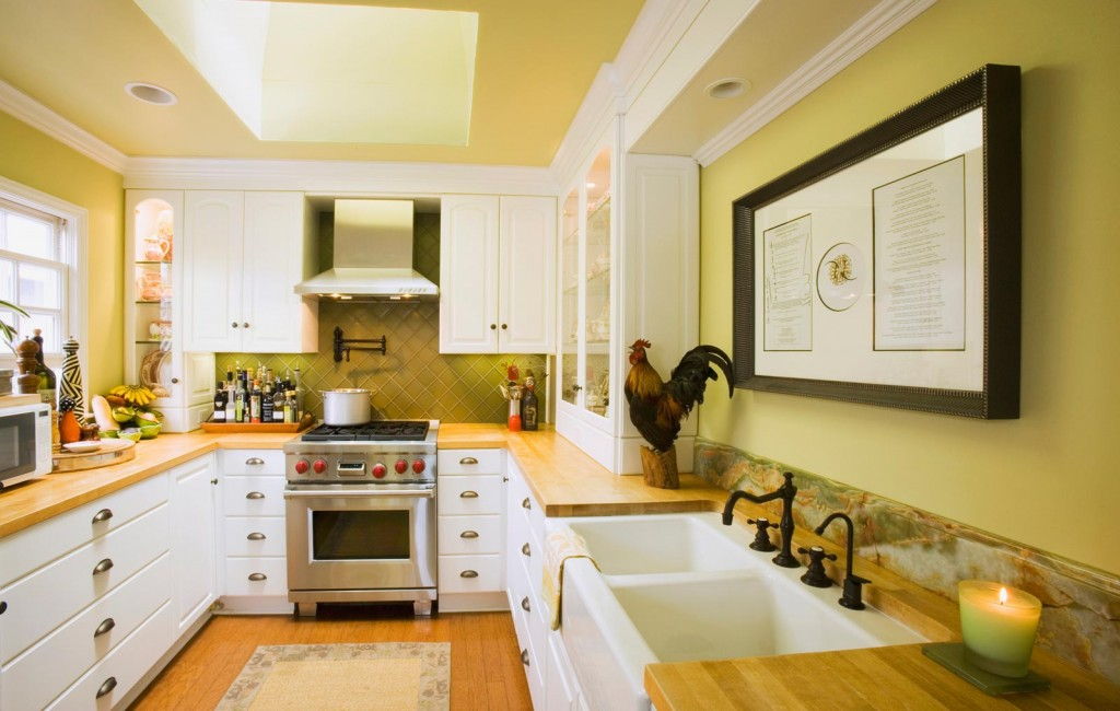 Yellow Paint Colors for Kitchen