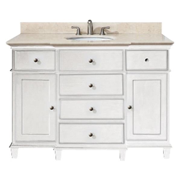 42 White Bathroom Vanity