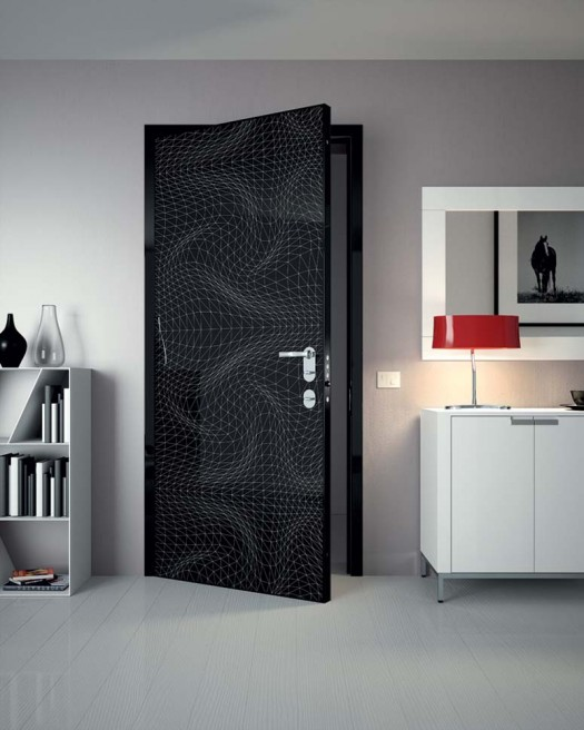 Black Bedroom Door