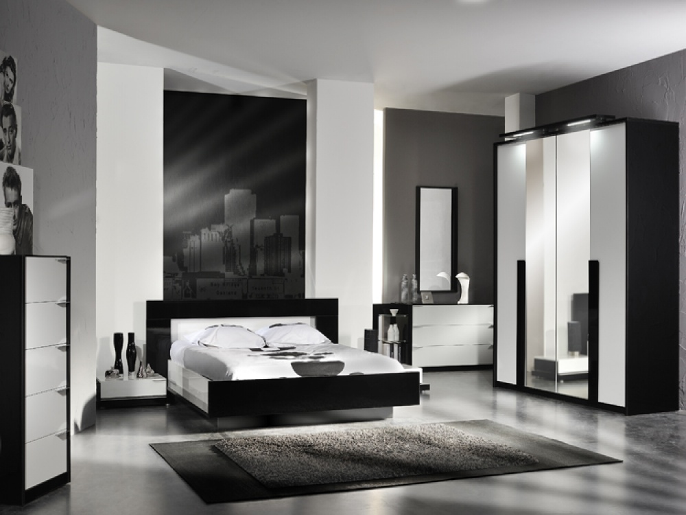 Black And White Bedroom Furniture Sets Decor Ideas