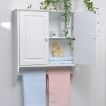 Cheap Bathroom Wall Cabinet with Towel Bar