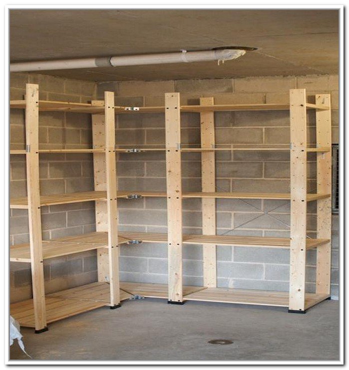 Cheap Garage Shelves