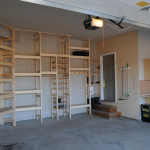 Custom Garage Shelving