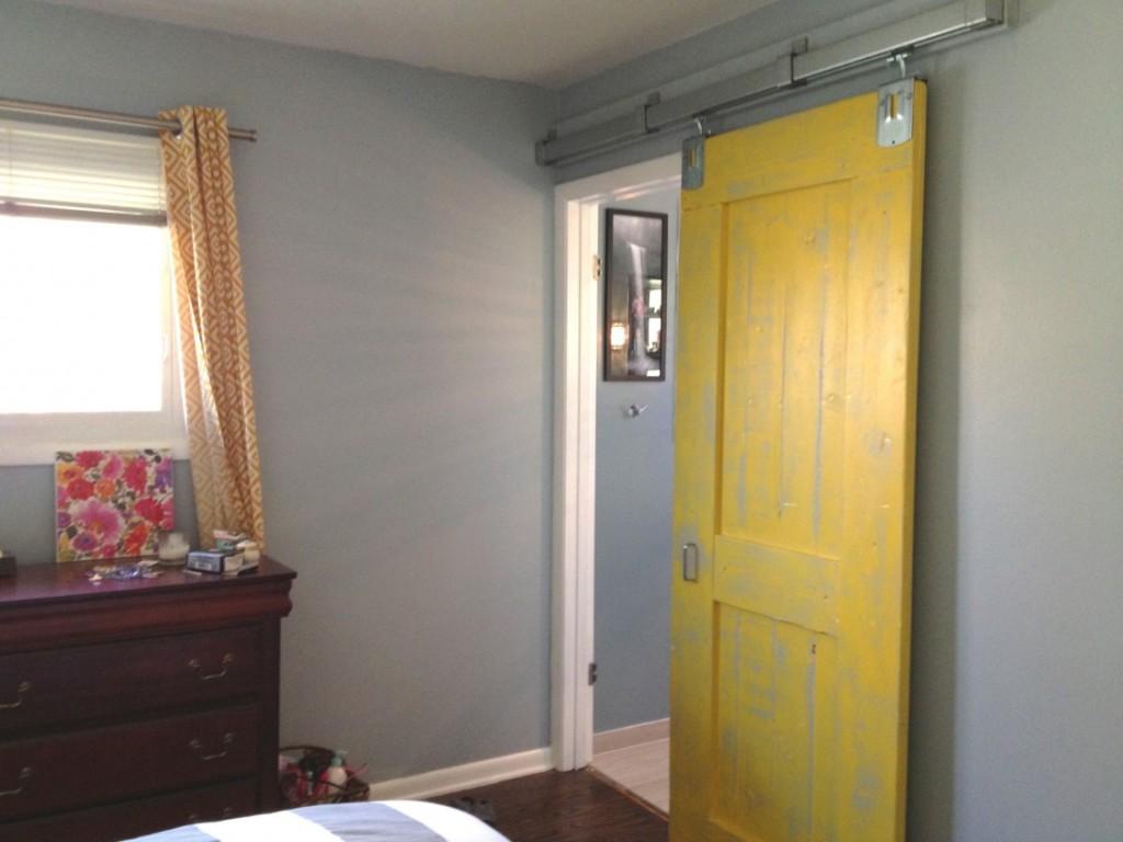 DIY Bedroom Door