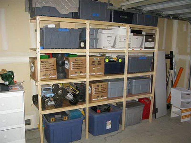 Garage Storage Shelves Plans