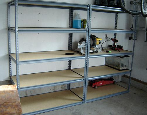Home Depot Garage Shelving