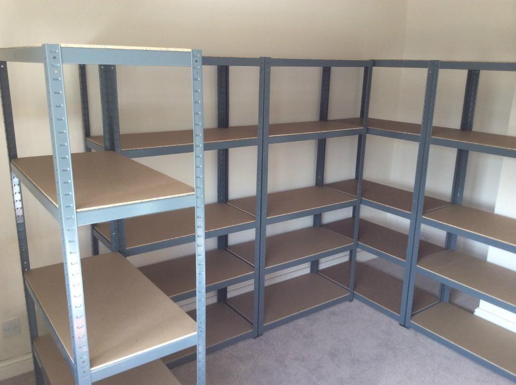 Metal Garage Shelving Units