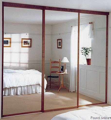 Mirror Sliding Closet Doors for Bedrooms