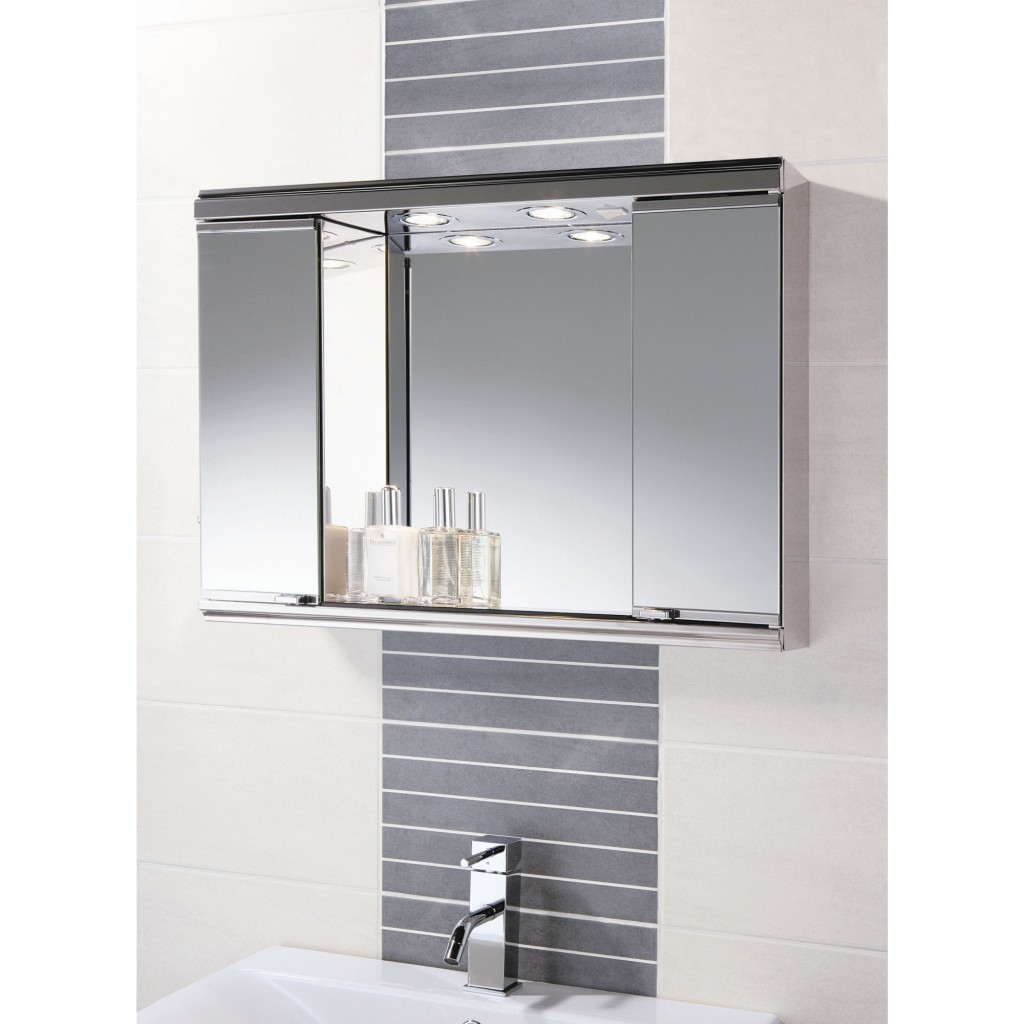 Modern Bathroom Wall Cabinets with Mirrors