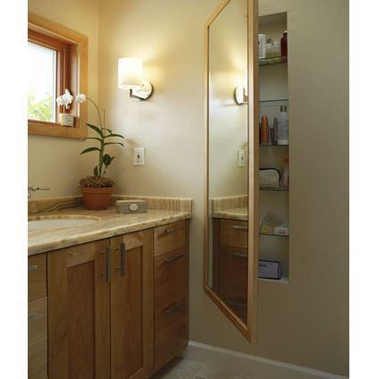 Recessed Bathroom Wall Cabinets