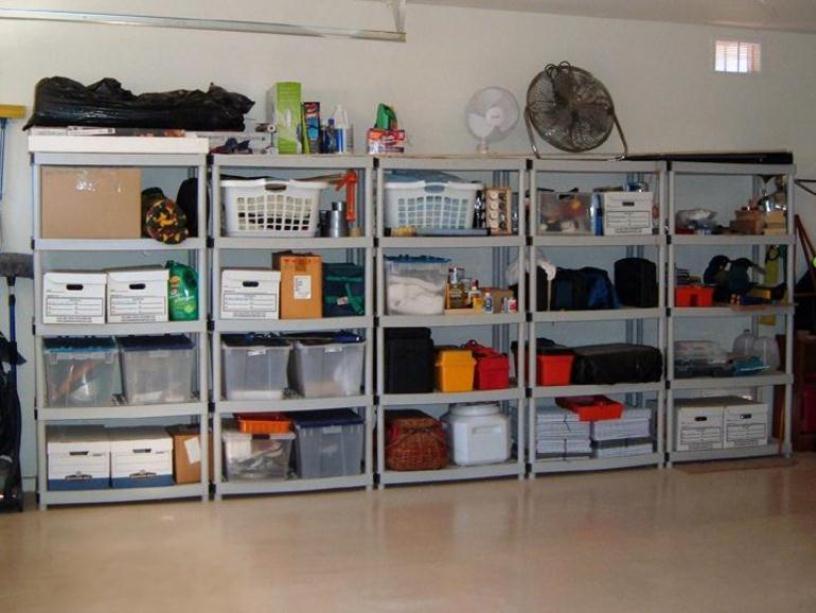 Storage Shelves for Garage