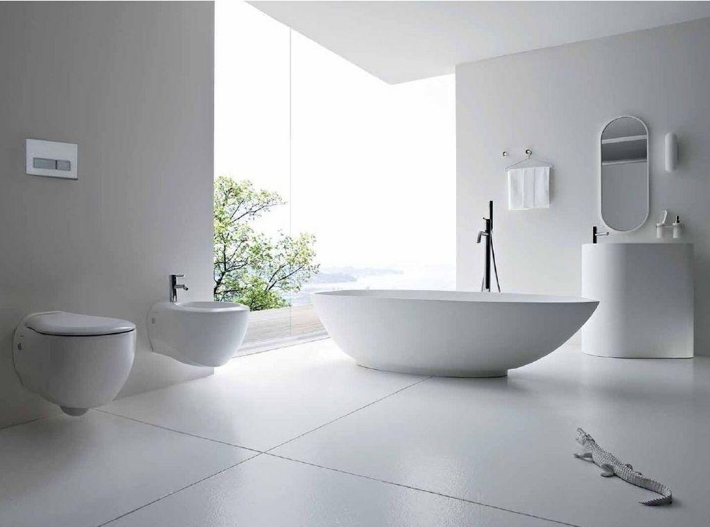 White Bathroom Fixtures