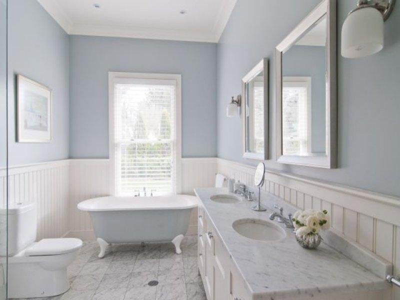 White Beadboard Bathroom Decor Ideas