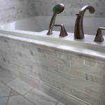 White Carrara Marble Bathroom
