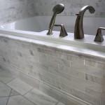 White Carrara Marble Bathroom
