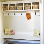 Ana White Mudroom