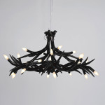 Black Antler Chandelier