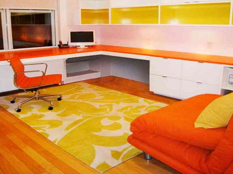 Contemporary Yellow Area Rugs