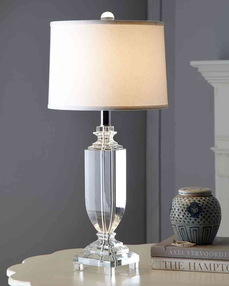Crystal Table Lamps for Bedroom