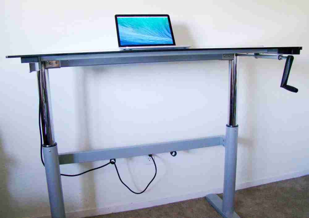 DIY Adjustable Standing Desk