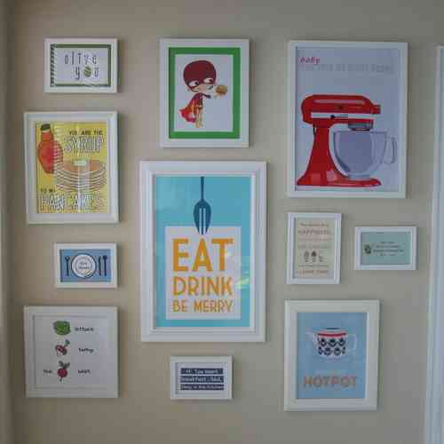 DIY Kitchen Wall Decor