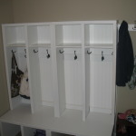 DIY Mudroom Storage