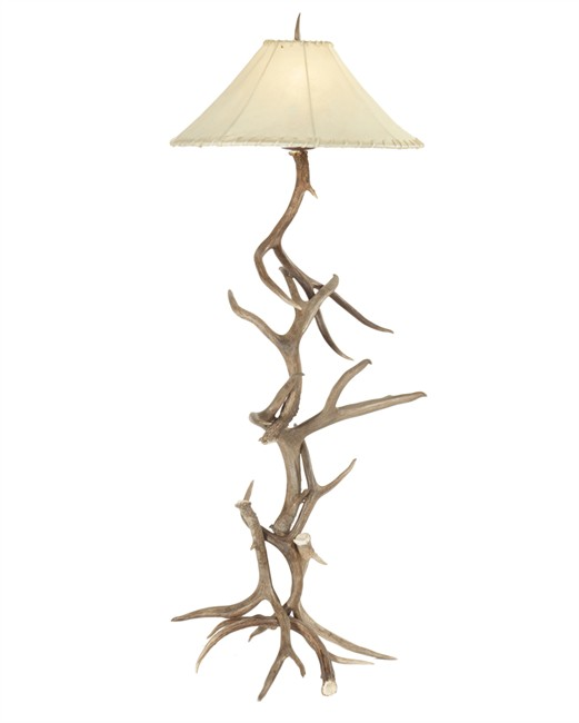 Deer Antler Floor Lamp