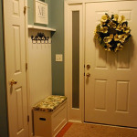 Entryway Mudroom Bench