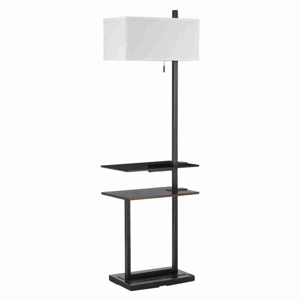 Floor Lamp with Tray Table