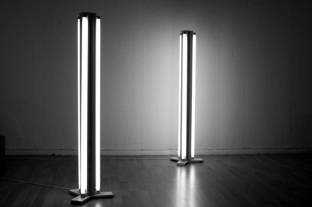 Fluorescent Floor Lamp
