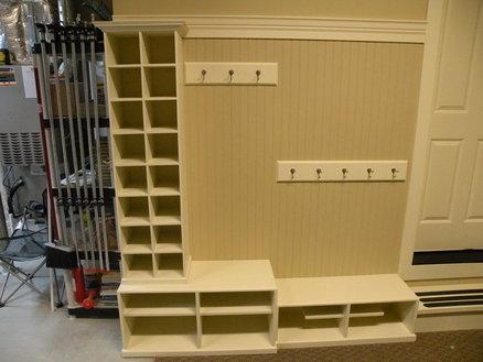 Garage Mudroom Storage
