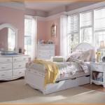 Girls White Bedroom Set