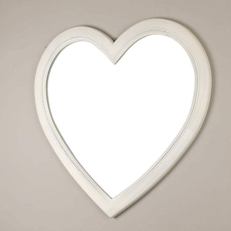Heart Shaped Wall Mirror Ideas