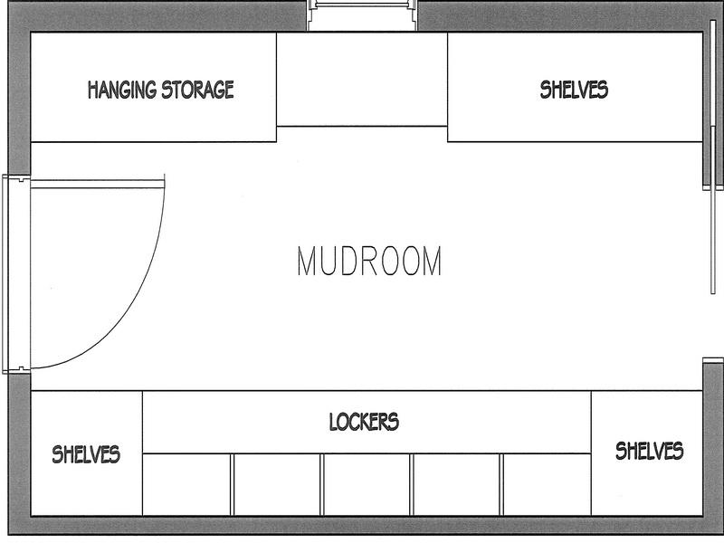House Plans with Mudroom