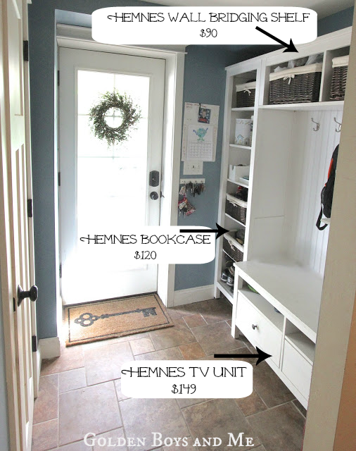 Ikea Hack Mudroom