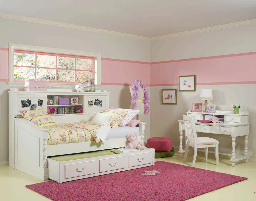 Kids White Bedroom Set