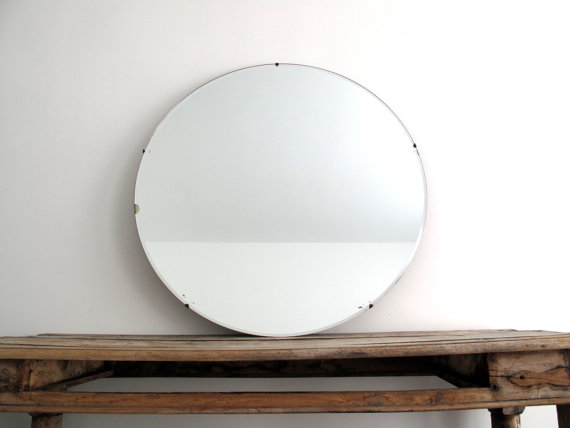 Large Frameless Wall Mirrors