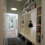 Modern Mudroom Lighting