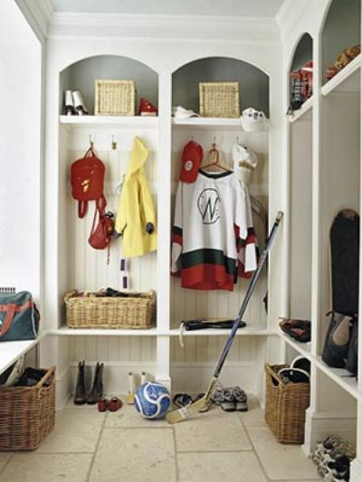 Mudroom Organization Systems