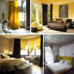 Mustard Yellow Bedroom