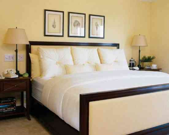 Pale Yellow Bedroom Ideas