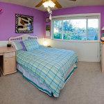 Purple and Teal Bedroom