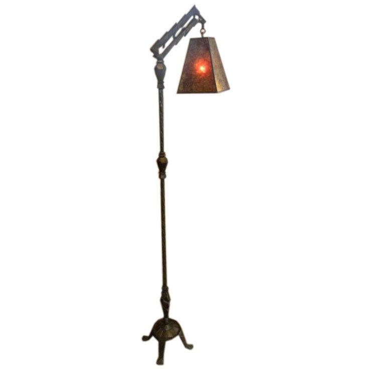Shade Mica Floor Lamp