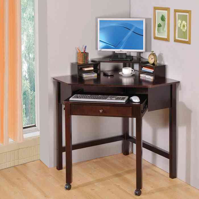 Small Corner Desks for Small Spaces