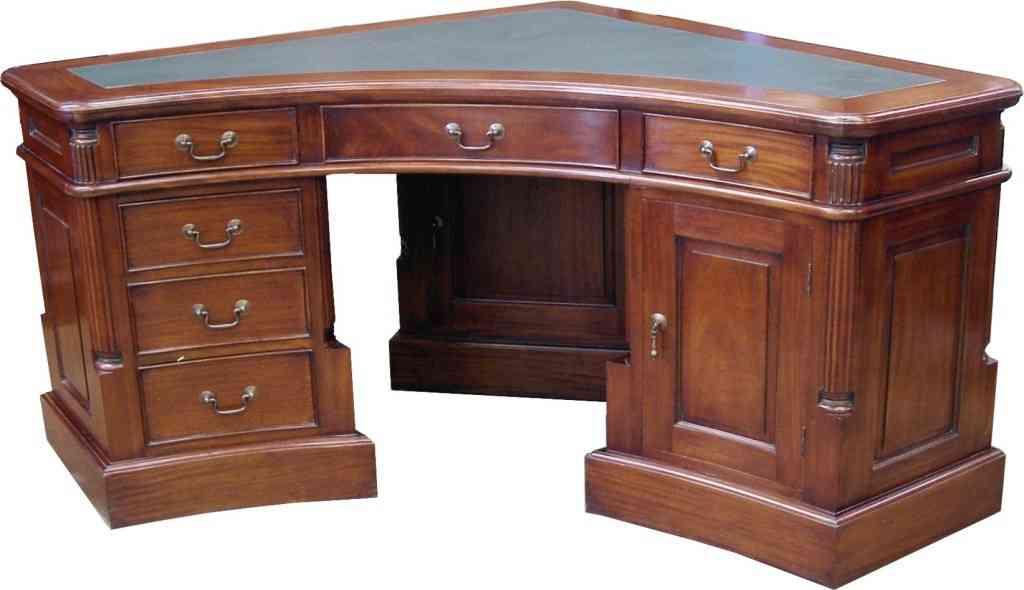 Solid OAK Corner Desks for Home Office