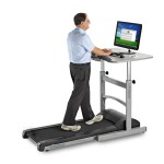 Standing Desk with Treadmill